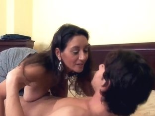 Dude has a great time with his friend's mom