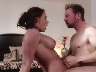 Busty MILF slut licked and dicked silly
