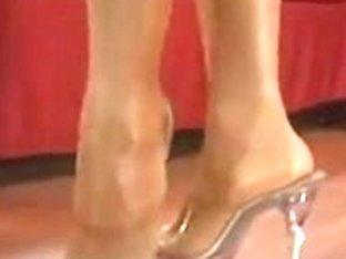 kitten foot and leg tease