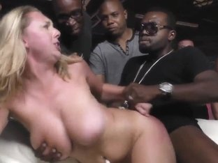 Whore rides black dicks