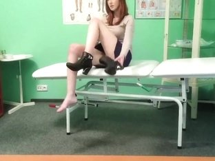 Fake Hospital Innocent redhead gets a creampie