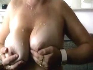 Drilling my wife's cunt from behind