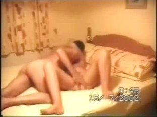 Horny lover rubs pink gut
