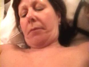 Anne Merritt 2 sucks cock