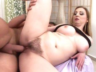 Amazing pornstar in hottest hairy, creampie porn video
