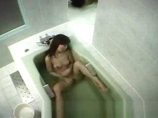 Japanese girl in bathtub