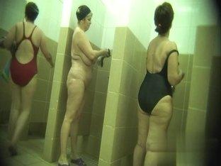 Hidden cameras in public pool showers 632