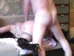 Old man fat hooker creampie