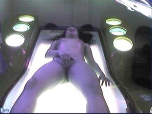 Solarium masturbation