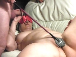 Whipping the wife to orgasms pt 2