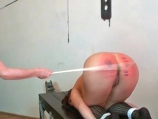 Needle anguish, hard caning, lesbo domination