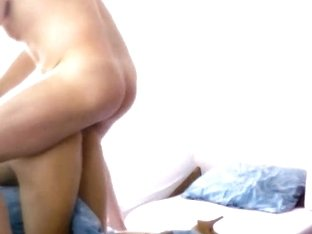 A mature couple's anal sex session