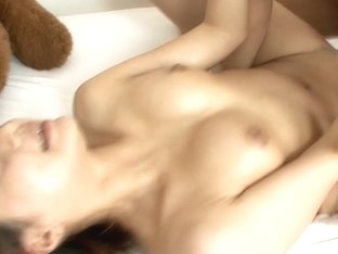 Yuu Shiraishi tag-teamed and creampie by two horny studs