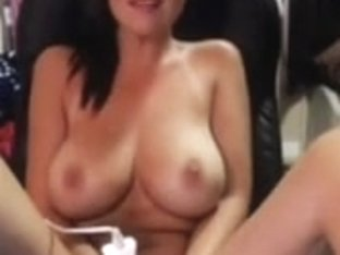 Orgasming with clit vibrator