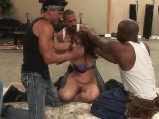 Rich Bitch Gets Taken Down and Fucked in Every Hole