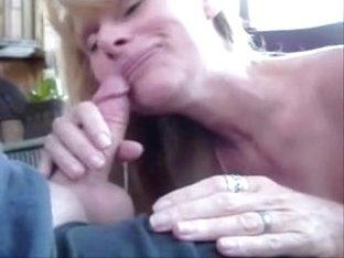 Laurie Cum Sucking