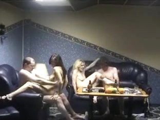 Getting hot in group sex adventure in homemade sextape