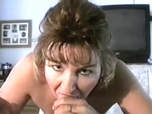 Sexy Mature Smoking