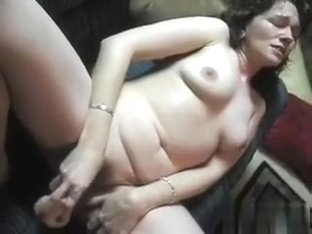 Watch my wife pump her pussy great clip!