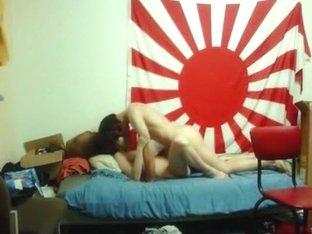 German couple homemade dorm missionary sextape
