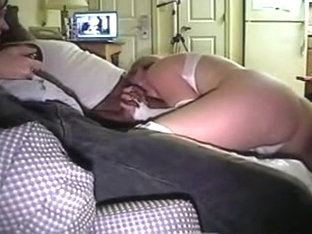 Homemade big tit porn vid where I suck black cock