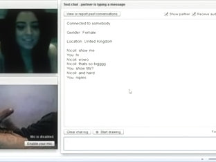 JokerBig Flash Chatroulette Large scones, i have been banned