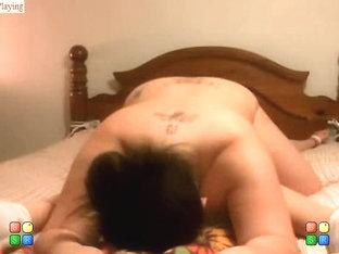 Kinky Sapphic fun in the bedroom