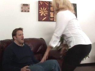 Exotic pornstar Dee Siren in crazy fetish, blonde sex video