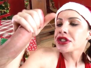 Hot Christmas party featuring Katie St. Ives