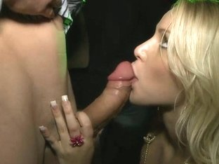 Pretty girl gets fucked in a club