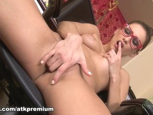 Horny pornstar Celeste Star in Incredible Stockings, Masturbation porn clip