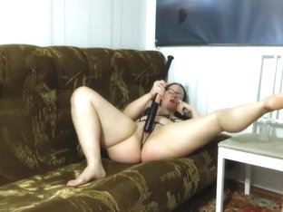 busty juicy insatiable milf fucking with a baseball bat