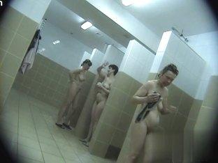 Hidden cameras in public pool showers 425