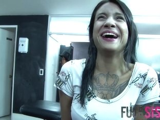 Mara in Tattooed Latina Gets Drilled