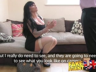FakeAgentUK Tight pussy pornstar causes agent issues
