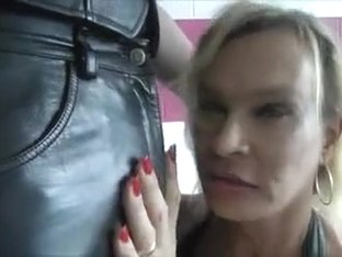 Amazing Homemade Shemale record with Blonde, Mature scenes