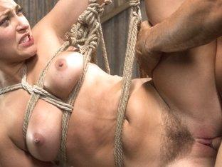 Amazing fetish adult movie with best pornstars Dani Daniels and Derrick Pierce from Dungeonsex