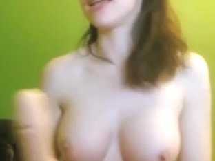 Riding my toys on a webcam show