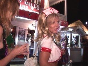 Street Festival Party Sluts Key West Florida
