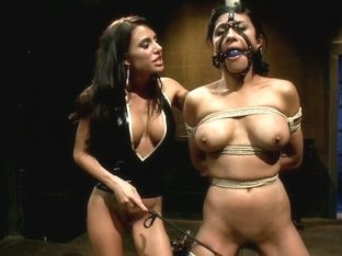 Gia Dimarco Completely Destroyed By Three Dominatrix
