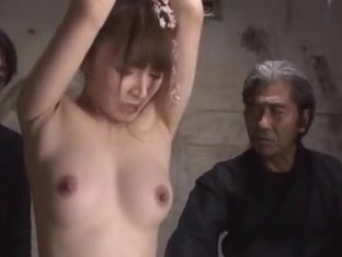Attractive Asian lady Miku Ohashi is teased by nasty dudes