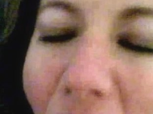 Wife receives a load of thick cum in this oral sex video