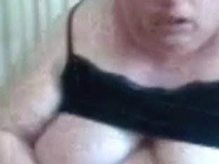 big beautiful woman older on web camera