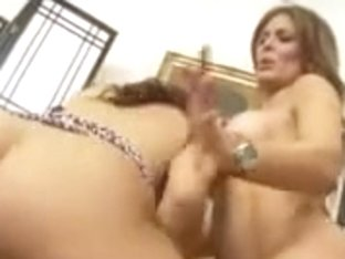 Cougar ladies share lover boy with big cock to suck