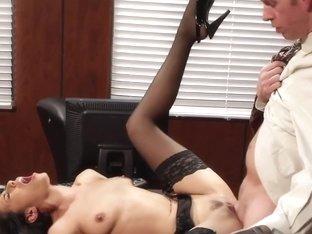 Lyla Storm & Mark Wood in Naughty Office
