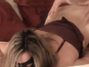 Masked Wife Gets Fucked from Behind