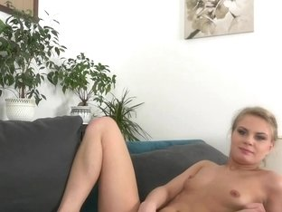 Smalltitted casting amateur sprayed cumonass