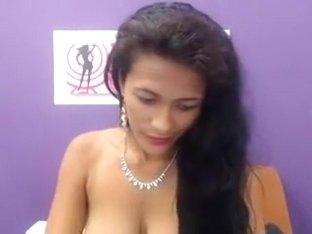 Hot Latina webcam fun 8