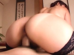 Amazing Japanese girl in Best Fishnet, Ass JAV scene