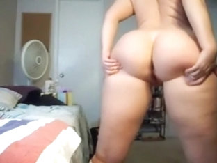 Shaking my ass while stripping